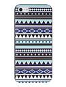 Национальный стиль Relievo цветочным узором Жесткий чехол для iPhone 5/5S