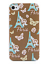 Paris Tower Back Case for iPhone 4/4S