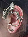 Women\'s Stud Earrings Ear Cuffs Unique Design Personalized Vintage Costume Jewelry Alloy Dragon Jewelry For Party Daily