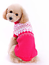 Dog Sweater Rose Dog Clothes Winter Spring/Fall Bowknot Cute Fashion