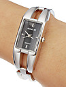 Женские Модные часы Часы-браслет Кварцевый Группа Кольцеобразный Серебристый металл
