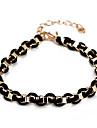 Fashion Black Wheel Chain & Link Bracelet(Random Color)