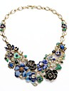 Statement Necklaces Crystal / Alloy / Resin / Rhinestone Wedding / Party / Daily Jewelry
