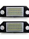 흰색 자동차 번호 번호판 램프 (24)는 포드 초점이 C-Max에 대한 조명 전구를 주도