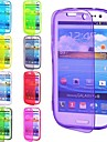 TPU Full Body Cover Case for Samsung Galaxy S3 9300 (Assorted Colors)