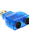 USB 2.0 male adaptateur PS / 2