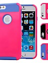 Double Shells Design Rose Back Hard Case with TPU Inside for iPhone6 (Assorted Colors)