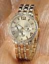 Women's Watch Fashion Sparkle Diamante Strap Watch Luxury Gold Dial Wrist Watch Cool Watches Unique Watches