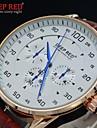 남자 석영 패션 라운드 다이얼 드레스 손목 시계를 방수 스포츠 시계 (모듬 색상)를 시계