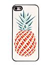 cas dur ananas conception en aluminium pour iPhone 4 / 4S