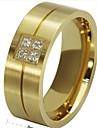 Муж. Классические кольца бижутерия Титановая сталь Бижутерия Назначение Свадьба Для вечеринок Повседневные Спорт Новогодние подарки