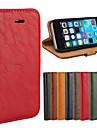 Назначение iPhone 8 iPhone 8 Plus Кейс для iPhone 5 Чехлы панели Кошелек Бумажник для карт со стендом Флип Чехол Кейс для Сплошной цвет