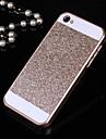 solida do brilho de Bling caso tampa traseira para iPhone 4 / 4S (cores sortidas)