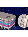 Para Samsung Galaxy Capinhas Antichoque / Com Strass Capinha Capa Traseira Capinha Cor Única TPU Samsung S6
