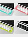 """coosbo® cor tampa do teclado de protecao dupla para 11 pro Retina Display """"13.3"""" 15 """"17"""" MacBook Air / / (cores sortidas)"""