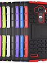 Pour Coque LG Antichoc Avec Support Coque Coque Arriere Coque Armure Dur Polycarbonate pour LGLG G4 LG G4 Stylus / LS770 LG G3 LG L90 LG