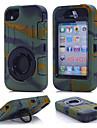 Для Кейс для iPhone 7 Кейс для iPhone 7 Plus Вода / Грязь / Надежная защита от повреждений Кольца-держатели Кейс для Чехол Кейс дляОдин