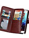 дзи бумажник PU кожаный чехол для де Samsung Galaxy Примечание 5 / Примечание 4 с 9 игровых карт (разных цветов)