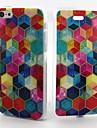 красочные картины коробка ТПУ полный случай тела с для iPhone 5с