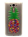 Pour Coque LG Transparente Coque Coque Arriere Coque Fruit Flexible PUT pour LG LG G3 LG Spirit/LG C70 H422