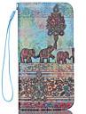 Pour Coque iPhone 6 Coques iPhone 6 Plus Portefeuille Porte Carte Avec Support Clapet Motif Coque Coque Integrale Coque Elephant DurCuir