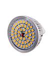 7W GU5.3(MR16) Spot LED MR16 48 SMD 2835 600 lm Blanc Chaud Decorative DC 12 V 1 piece