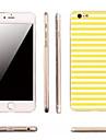 Pour Coque iPhone 6 Coques iPhone 6 Plus Ultrafine Motif Coque Coque Arrière Coque Lignes / Vagues Flexible PUT pouriPhone 6s Plus iPhone