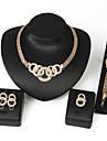 Femme Set de Bijoux Chaines & Bracelets Bijoux Fantaisie Fete / Celebration bijoux de fantaisie Alliage Forme Ronde Colliers decoratifs