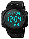 Skmei® 1068 Men\'s PU Band Outdoor Sports LED Multifunction Wrist Watch 50m Waterproof Assorted Colors Cool Watch Unique Watch Fashion Watch