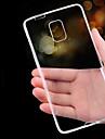 Pour Samsung Galaxy Note Ultrafine Transparente Coque Coque Arriere Coque Couleur Pleine PUT pour Samsung Note 5 Note 4 Note 3