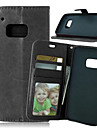 고급 PU 가죽 카드 홀더 지갑 HTC에 대한 사진 프레임 케이스 하나 M8 / M9 플립 커버 스탠드 (모듬 색상)