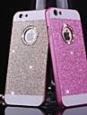 d grande de metal brilhante padrão Capa para iPhone 4 / 4s