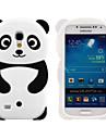 Para Samsung Galaxy Capinhas Estampada Capinha Capa Traseira Capinha Desenho 3D Silicone Samsung S4 Mini / S3 Mini