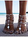 Femme Bracelet de cheville/Bracelet Alliage Original Mode Multicouches Europeen Personnalise Bikini bijoux de fantaisie Bijoux Bijoux Pour