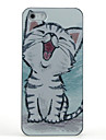 For iPhone 5 Case Pattern Case Back Cover Case Cat Hard PC iPhone 7 / iPhone SE/5s/5