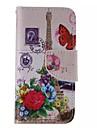 iphone 7 plus fleur tour peint pu cas de telephone pour iphone 6s 6 plus se 5s 5c 5 4s 4