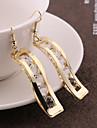 여성 드랍 귀걸이 의상 보석 합금 보석류 제품 결혼식 파티 일상 캐쥬얼