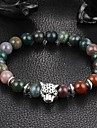 New Arrival Multicolors Nature Stone Leopard Bracelet Strand Bracelets Daily / Casual 1pc Christmas Gifts