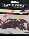 """15 개 소프트 베이트 낚시 미끼 소프트 베이트 레드 g/온스 mm/2-3/8"""" 인치 바다 낚시 민물 낚시 루어 낚시 베이스 낚시"""
