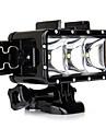 Spot Light LED Waterproof Housing Case Built-in Flash ForGopro 5 Gopro 3 Gopro 2 Gopro 3+ Gopro 1 Sports DV SJ4000 SJ5000 SJ6000 SJCAM