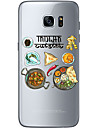 Pour Samsung Galaxy S7 Edge Motif Coque Coque Arriere Coque Noel Flexible PUT pour Samsung S7 edge S7 S6 edge plus S6 edge S6