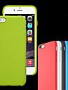 Para iPhone 8 iPhone 8 Plus iPhone 7 iPhone 7 Plus iPhone 6 iPhone 6 Plus Case Tampa Antichoque Other Capa Traseira Capinha Cor Solida