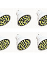 6W GU10 Spot LED G50 32LED SMD 5733 480LM-500LM lm Blanc Chaud / Blanc Froid Decorative AC110 / AC220 V 6 pieces