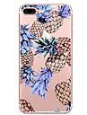 Pour Motif Coque Coque Arriere Coque Fruit Flexible PUT pour Apple iPhone 7 Plus iPhone 7 iPhone 6s Plus/6 Plus iPhone 6s/6
