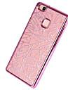 Para Galvanizado Capinha Capa Traseira Capinha Brilho com Glitter Macia TPU para HuaweiHuawei P9 Huawei P9 Lite Huawei P8 Huawei P8 Lite