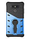 Pour Antichoc Avec Support Coque Coque Arriere Coque Couleur Pleine Dur Polycarbonate pour LG LG K10 LG K8 LG K7 LG G6 LG V20 LG X Power