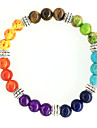 Fashion Natural Colorful Beads Beaded Bracelet
