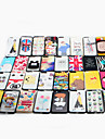 For Apple iPhone 7 Plus Case Cover Pattern Back Cover Case Cartoon Hard PC  Multiple Styles Random Delivery 1 pcs