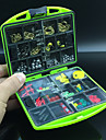 Fishing Tackle Box Accessories Fishing Swivels Jig Hooks Case Mini Fishing Box