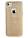 Para Apple iphone 7 7plus caso tampa revestimento chapa traseira glitter brilho cor solida tpu suave 6s mais 6 mais 6s 6